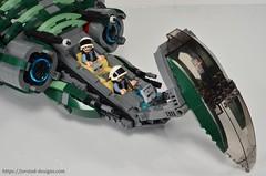DSC_0472 (Jorstad Designs) Tags: lego star wars jorstad designs custom dropship phantom halo ucs moc