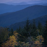 Starting early...  Clingman's Dome, Great Smoky Mountains, North Carolina thumbnail