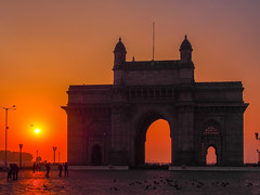 Mumbai 2015 (hunbille) Tags: india mumbai gateway gatewayofindia gate indiagate birgittemumbai2lr dawn sunrise bombay