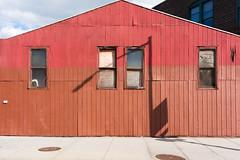 Red Building by scottbrennan6 - Brooklyn, New York