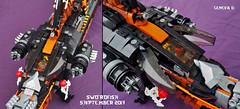 Swordfish Details (gid617) Tags: lego swordfish ninjago ship skybound pirates space spaceship