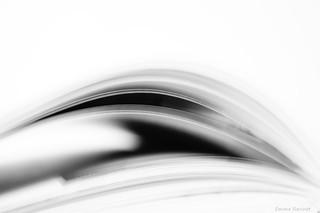 Vague (abstrait livre n&b)