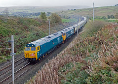 Suck It Up, It's All About The Noise! (Richie B.) Tags: 1z50 greenholme cumbria the caledonian 50007 50049 english electric british rail class 50