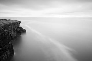 Cliffs off the Clare Coast