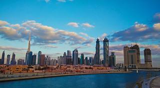 Dubai Canal cityscape (3)