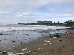 Beside The Seaside - Spanish Point, County Clare. (firehouse.ie) Tags: sky water beaches beach autumn2017 autumn september2017 westofireland westernireland landscape seascape republic eire ireland coastline coastal coaat countyclare clare atlanticocean ocean atlantic waves wave spanishpoint surf sand sea seaside