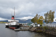 Maid of the Loch - Loch Lomond (ambo333) Tags: maidoftheloch lochlomond scotland paddlesteamer