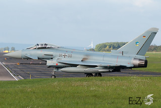 31+00 German Air Force (Luftwaffe) Eurofighter Typhoon