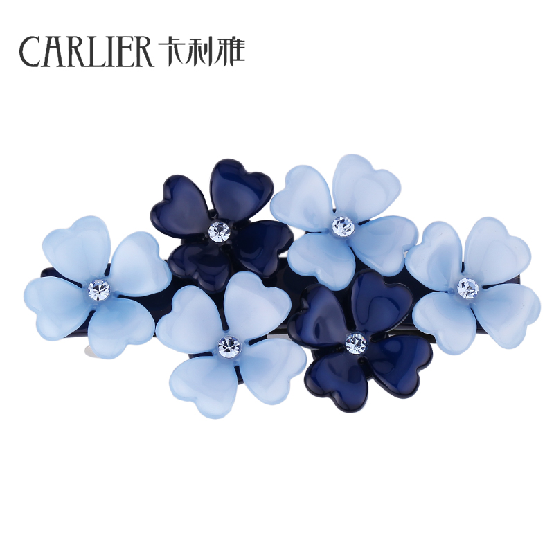 Cali Ya sweet flower jewelry Korean lady all-match top chuck hairpin spring clip clip a hairpin headdress