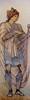 "Sir Edward Coley Burne-Jones (1833-1898), ""St Martin"", design for a stained glass window (1880) (sofi01) Tags: edwardcoleyburnejones burnejones"