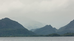 Rain (Future-Echoes) Tags: 4star 2014 cloud cumbria derwentwater haze lake landscape mountains rain thelakedistrict