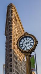Daily Bugle (dayman1776) Tags: flatiron building nyc new york city clock sunset