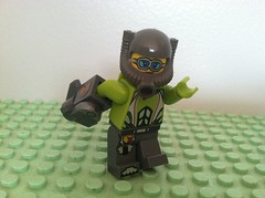 Jettison 1 (Gallisuchus) Tags: custom league lego heroes superhero minifigure jettison super speed gravity missile gauntlet