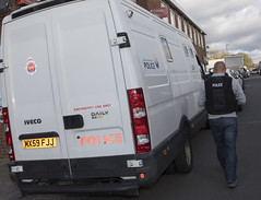 Operation Pyarr (Greater Manchester Police) Tags: policeoperation policedrugsoperation policeinbury policeincheethamhill arrest handcuffed cuffed arrested