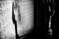 Light and shadow - Luz y sombra. (Andrés Luis Muñoz) Tags: fujifilmfinepixx100 fuji x100 fujinon23mm indoor interior blackandwhite blancoynegro iglesiasagradocorazón cordoba argentina naturallight luznatural latinamerica latinoamerica iglesia church angel lowkey shadow sombra monochrome monocromo blackwhitephotos