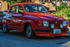1976 Saab 96 (tenchiro) Tags: saab 1976 96 sonya7 sonyfe90mmf28macrogoss car vintage auto