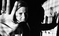 film noir (matthias hämmerly) Tags: people street lady woman streetphotography analog film istillshootfilm iso monochrom bw black white blackandwhite swiss switzerland suisse schweiz porträt rodinal light shadow fomapan push pushed 800 fomapan400 greich wallis hand filmisnotdead contrast grain process develop diy scan scanned analogue shootfilm olympus om2 om 50mm 50 lens