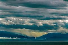 Towards Olympus (F0t0graphy) Tags: clouds cloudy olympus mountain juandefuca nikon washington olympics