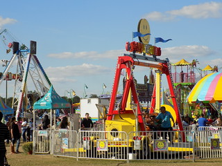 Midway At The Robeson Regional Agricultural Fair.