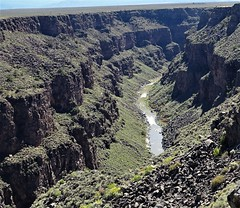 100317-36, Looking South From The Rio Grande Gorge Bridge (skw9413) Tags: newmexico riograndgorge riogranderiver