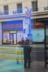 Piccadilly Circus, Saul Leiter style! (elisabethanne_thetravellingphotographer) Tags: london central centrallondon piccadillycircus piccadilly saulleiter street streetphotography colour colourful reflection reflections abstract