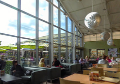 Garden Centre Cafe (Durley Beachbum) Tags: odc windows cafe people bournemouth october