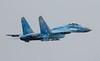 Sukhoi Su-27 Flanker Blue 58 213-1 (cwoodend..........Thanks) Tags: 2017 july2017 riat2017 royalinternationalairtatoo raffairford fairford totterdown ukrainian tacticalaviationbrigade sukoi flanker blue58 58 831sttacticalaviationbrigade su27 sukhoisu27 sukhoisu27flanker su27flanker