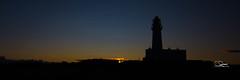Flamborough Head Lighthouse 3 (liamsimpson) Tags: flamborough lighthouse sea dusk sunset yorkshire silhouette