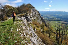 The escarpment on Berrendi, GR11