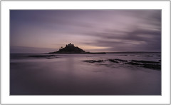 St Michaels Mount. (muddlemaker1967) Tags: cornwall landscape photography water seascape st michaels mount sky rocks longexposure reflections sunset nikon d700 carlzeiss distagont2821 lens