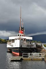 Maid of the Loch - Loch Lomond (ambo333) Tags: maidoftheloch lochlomond scotland paddlesteamer