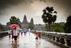 Angkor Wat in the rain (holzer_r) Tags: angkor wat cambodia kambodscha temple tempel khmer empire buddhism suryavarman vishnu
