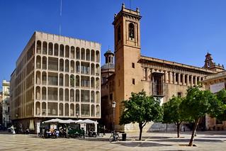 Valencia: Plaza del Colegio del Patriarca