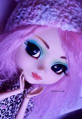 Aqua | Pullip Prunella (·Kumo~Milk·^^) Tags: pullip prunella aqua rewigged papinwig rechipped eyechips doll eyelashes gloss junplanning groove