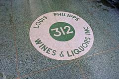 Louis Philippe Wines & Liquors, New York, NY (Robby Virus) Tags: newyorkcity newyork ny nyc manhattan bigapple city louis philippe wines liquors inc store business floor flooring terrazzo 312 tile entry entrance design underfoot