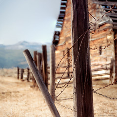 old barn fence (marianna_a.) Tags: fence friday hff old barn rustic barbed wire post wooden vintage antique mariannaarmata washington usa