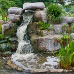 Water feature in Mueang Boran, Samut Phrakan, Thailand thumbnail