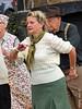 NYMR 1940's Weekend (2017) 080 - Lets dance (Row 17) Tags: england yorkshire grosmont 1940s northyorkmoorsrailway people woman women reenactment reenactor reenactors dancer dancers lumix panasonic candid portrait