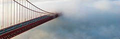 Suspended (Joseph Greco) Tags: goldengatebridge sanfrancisco bridge suspensionbridge fog cloud span pinnaclephotography
