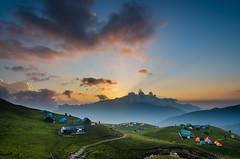 DSC_3390 (arnab.naskar811) Tags: nikon tokina wide wideangle himalayas hills travel trek uttarakhand sunset sunsetcolours roopkund india