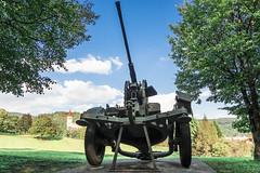 A big gun in Ilirska Bistrica (rlubej) Tags: notranjska war memorial