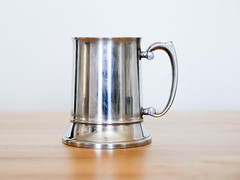 Stainless Steel Tankard (.godo) Tags: tankard mug beer drinking stein pirate cosplay costume prop festival faire fair renassance ren accessory mens stainlesssteel silver cup historicalreenactment captainhook