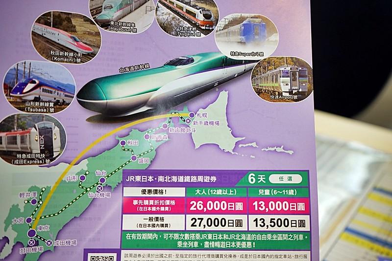 『日本。交通』 【JR PASS】東日本・南北海道鐵路周遊券