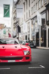 Ferrari F40 (Roman Rudnicki) Tags: ferrari f40 london londyn uk gucci classic classy styly style lifes lifestyle nikon d750 legend enzo