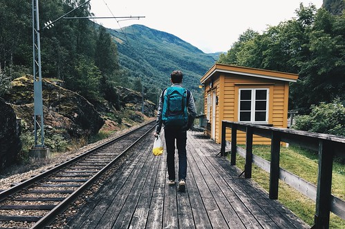 Lunden Train Station, Norway