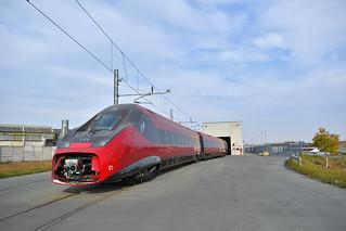 ETR 675.01 NTV in sosta alla Alstom di Savigliano(CN)