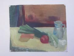 . (Kaïopai°) Tags: heinrich malerei painting kunst art ölmalerei ölgemälde oilpainting porree krug karaffe stilleben expressionismus expressionism