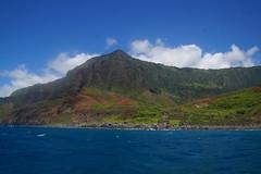 250  Kalalau vanaf de zee (Gé Nielissen) Tags: 2017 verenigdestaten hawaii kauai napalicoast kalalauvalley