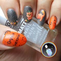 Pumpkin Weenie Nail Art (ithinitybeauty) Tags: pumpkin halloween halloween2017 nails nail art nailart nails2inspire nailswag orange matte manicure acrylic paint costume cat cats kitty nailpolish nailartwow nailartist nailporn nailsoftheday nailblog blogger beautyblogger bblogger beauty