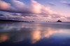 Whispering Explosion. (Andy Bracey -) Tags: bracey andybracey landscape seascape beach sand longexposure leefilters littlestopper saintouen jersey channelislands sunset whisperingexplosion roccotower tower lacorbiere reflected reflection holiday happy lovinglife